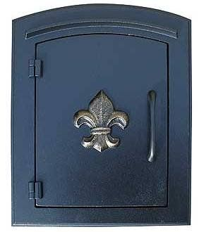 QualArc Column Mailbox (fleur de lis) Black by QualArc. $269.00. Budget Mailboxes has a 1-day sale on the Column Mailbox (fleur de lis) Black by QualArc. This item is sometimes also known as: MAN-1402-BL - B0081A2O8W - - WL-MAN-1402-BLBM