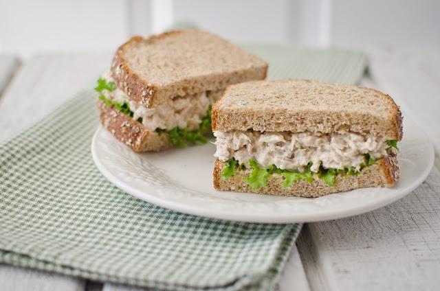 simple tuna sandwich | Lunch | Pinterest