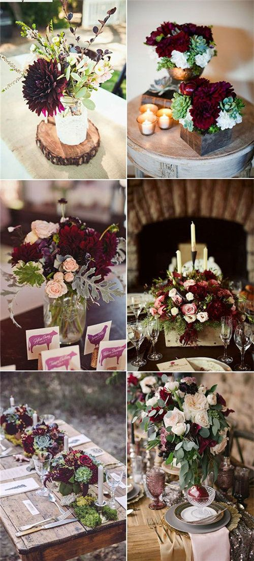 40+ Fall Wedding Centerpieces On Your Big Day