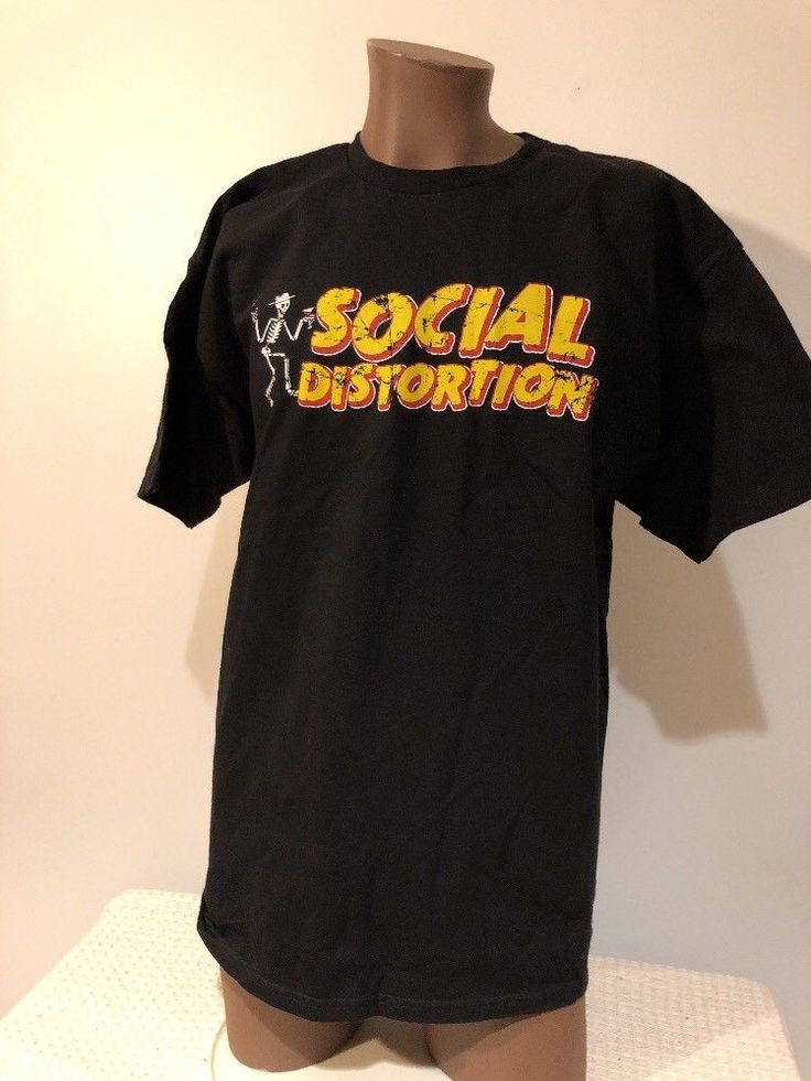 Social Distortion 2012 Winter Tour Tshirt XL New NWOT Mike Ness Skelly Punk #AlstyleApparelActivewear #BasicTee