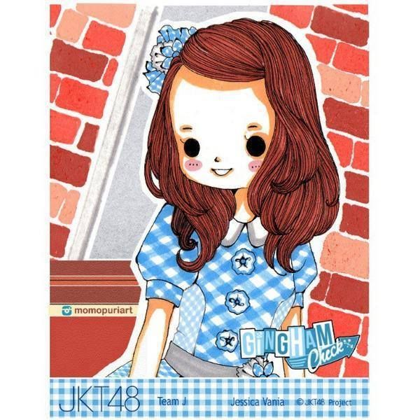 Jeje Gingham check anime version