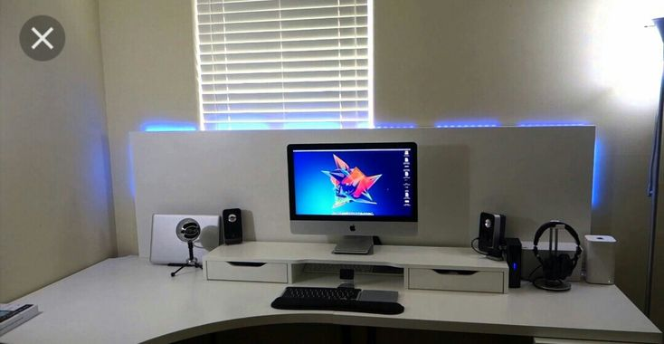 ikea akex monitor stand riser pc battlestation pinterest. Black Bedroom Furniture Sets. Home Design Ideas