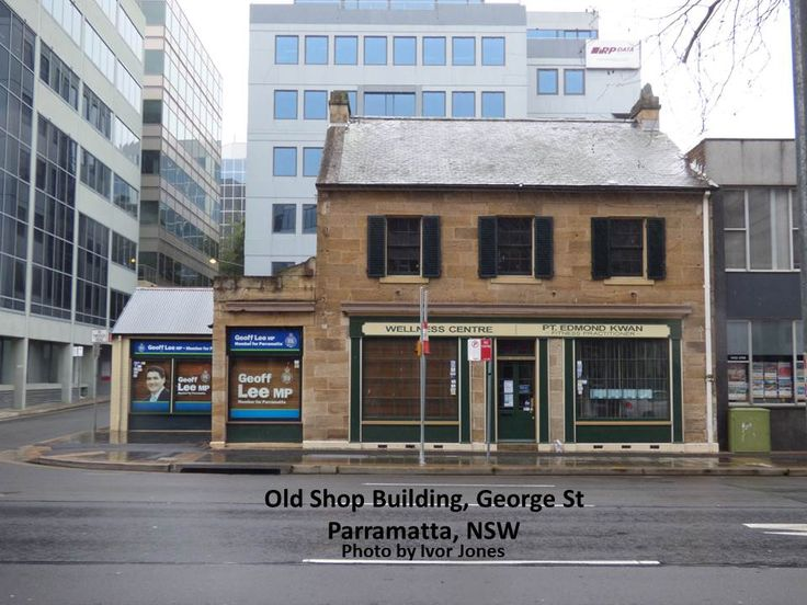 Old Shop, George St.,Parramatta