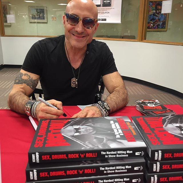 Kenny Aronoff Autobiography Sex, Drums, Rock 'N' Roll Kenny Aronoff Releases Autobiography http://www.drumperium.com/kenny-aronoff-autobiography-sex-drums/