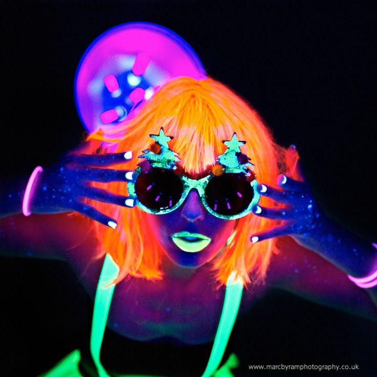 Black Light Makeup | NEON LOVE | Pinterest | Black light ...