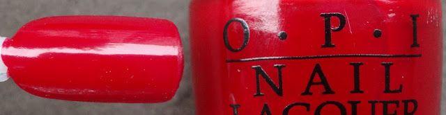 OPI red hot rio @OPI