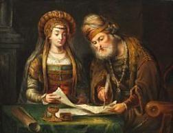 Govert Flinck - De huwelijksakte