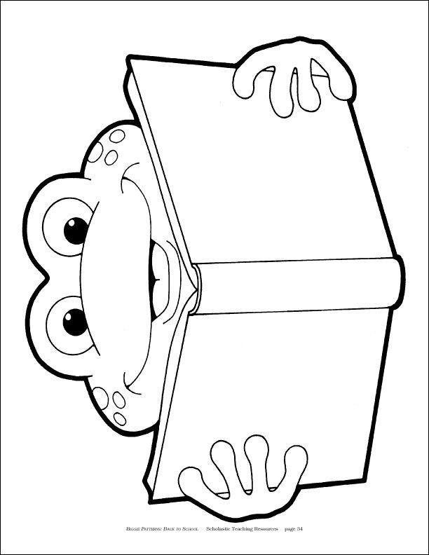 Žába čtenářka