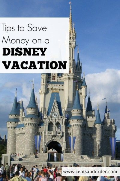 Save hundreds on a Disney World vacation! These money saving tips will help you enjoy Disney  on a budget. Plus, bonus tips for military families! | Cents and Order