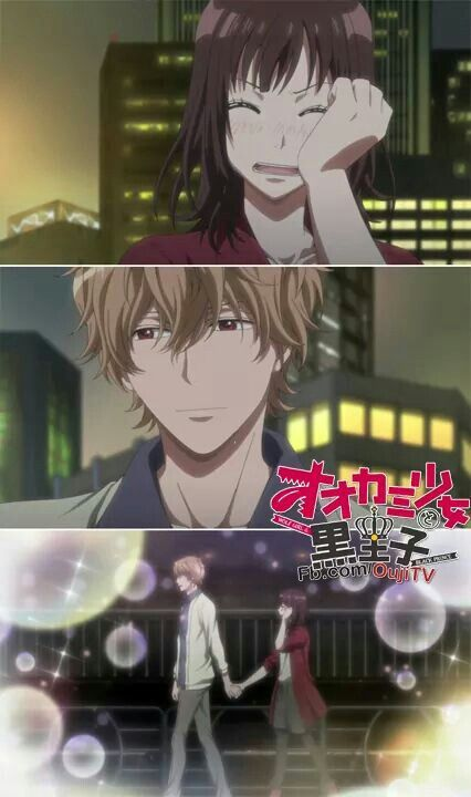 Erika y Kyouya // Ookami Shoujo to Kuro Ouji-Wolf girl and black prince