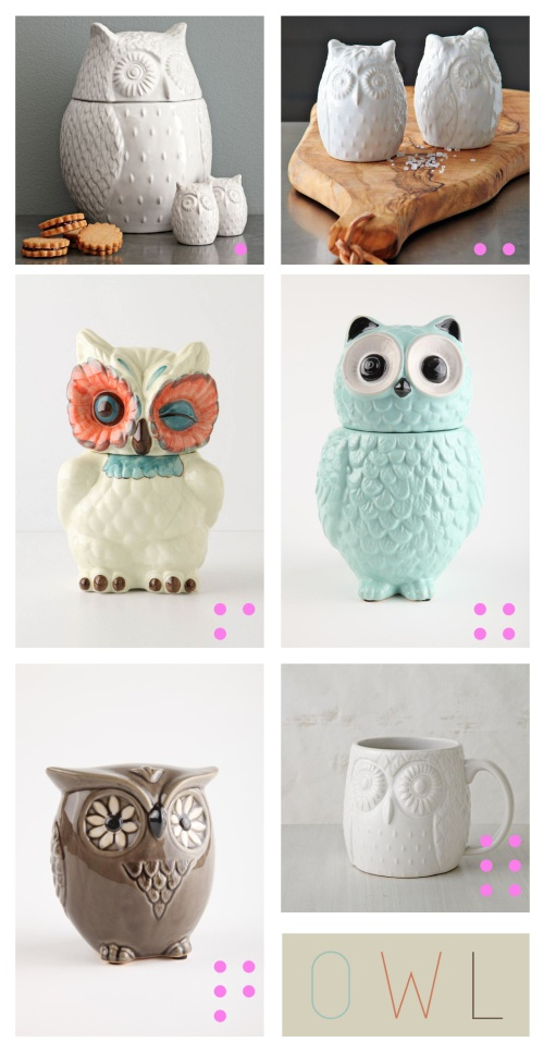 owl homeware