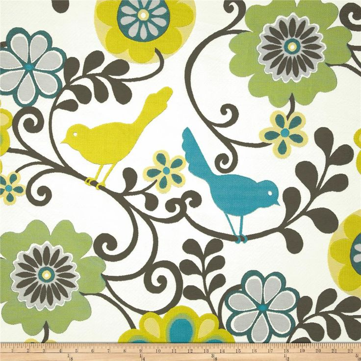 Pin By Storytelling On Happy Fabric: Fabric.com: Swavelle Mill Creek Happy As A Lark Carribean