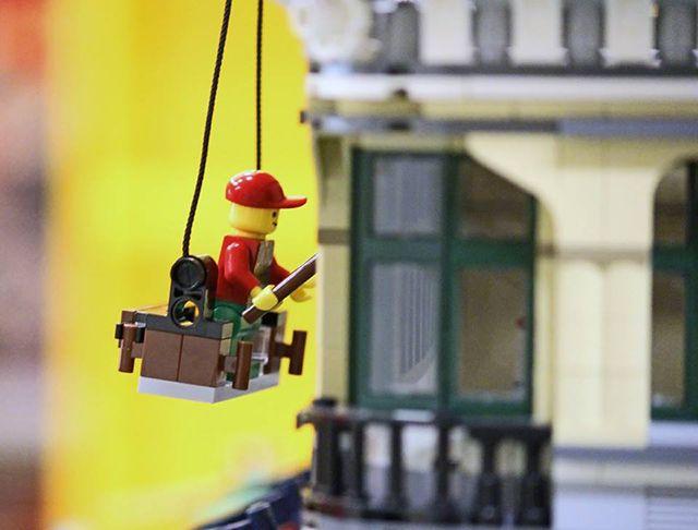 Orasel LEGO - detaliu