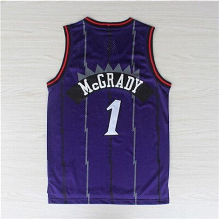 2c8853ffcc1 ... mens 1 Tracy McGrady jersey orlando throwback basketball jerseys cheap Tracy  McGrady toronto jersey top Mens Toronto Raptors ...