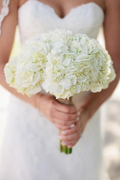bouquet mariée hortensia