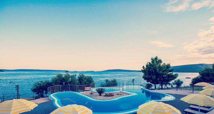 Was ein #ausblick auf dem #campingplatz #belvedere in #kroatien #vacansoleil #premiumcamping