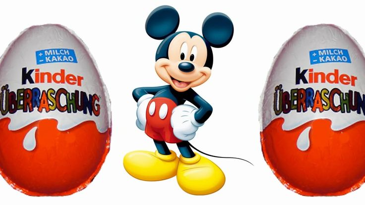 Kinder Surprise Surprise eggs Mickey Mouse Kinder Sorpresa Мики Маус