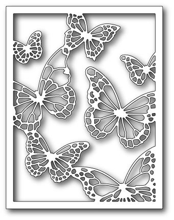 [99138] DIES- Floating Butterfly Frame