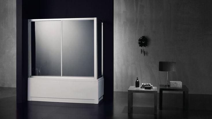 Ref. Teresa Banheira Linha AForma - Painéis de banheira - Portas de Correr (entre paredes - embutidas) Um painel fixo e uma porta de correr. Rolamentos esferas inox. Fecho magnético. Acrílico de 2,3mm ou vidro temperado 4mm. Perfis em alumínio lacado branco ou metalizado. Altura standard: 1400mm  #italbox #waterprotect #paineisdebanheira #bathpannels   www.italbox.pt FB: www.facebook.com/ItalboxPT ISSUU: issuu.com/italbox-waterprotect LINKEDIN: www.linkedin.com/company/italbox