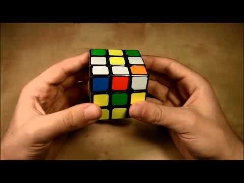 Πώς να λύσετε τον κύβο του Ρούμπικ Μέρος Α' - YouTube