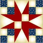 to Diagram II, make four pieced-square sub units.