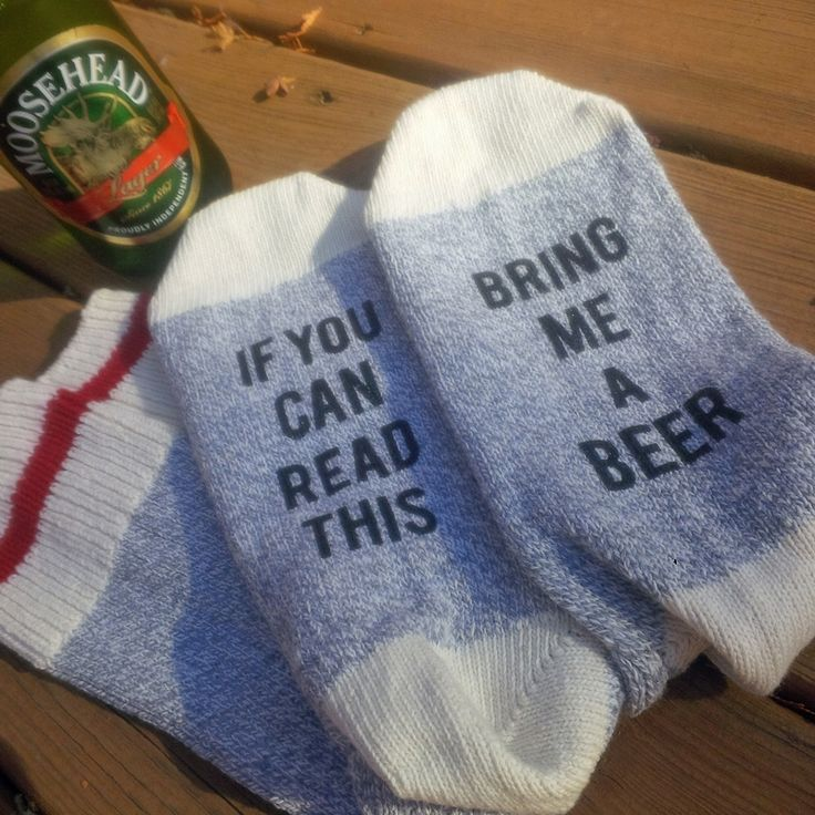 Bring Me Beer Unisex Cotton Socks