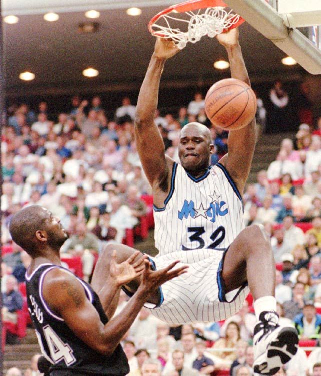 Shaq, this dude was an absolute BEAST!!!!!!