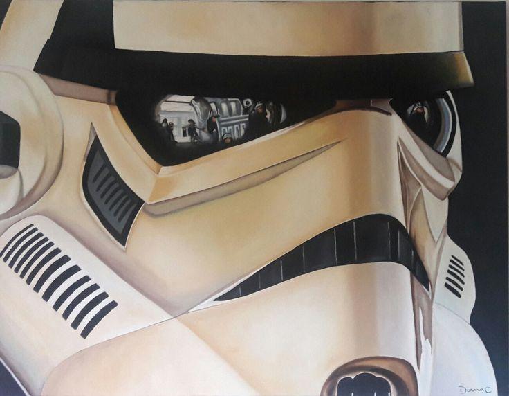 #Stormtrooper #oleo