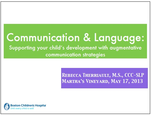 augmentative and alternative communication in children essay Treatments developed for children with asd and have evolved from different   developed as an augmentative alternative for teaching communication.