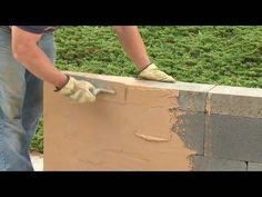 Simple How to Cover Your Cinder Block Walls