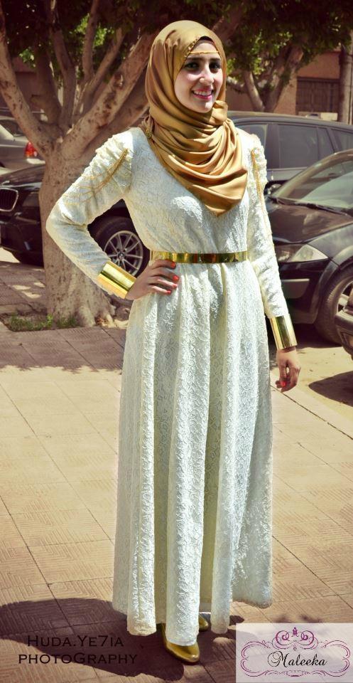 #Maleeka #Hijab Dress 2013