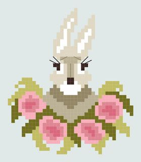 By The Bay Needleart: Free Chart For Easter - Bunny