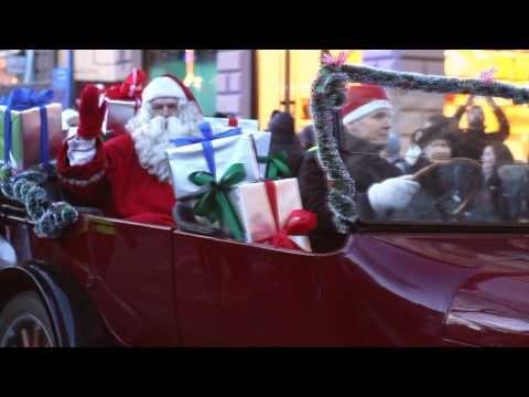 Helsinki Christmas parade