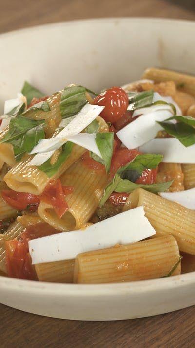 Rigatoni Alla Norma ~ Recipe | Tastemade