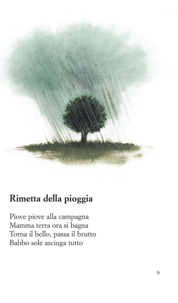 Filastrocca della pioggia