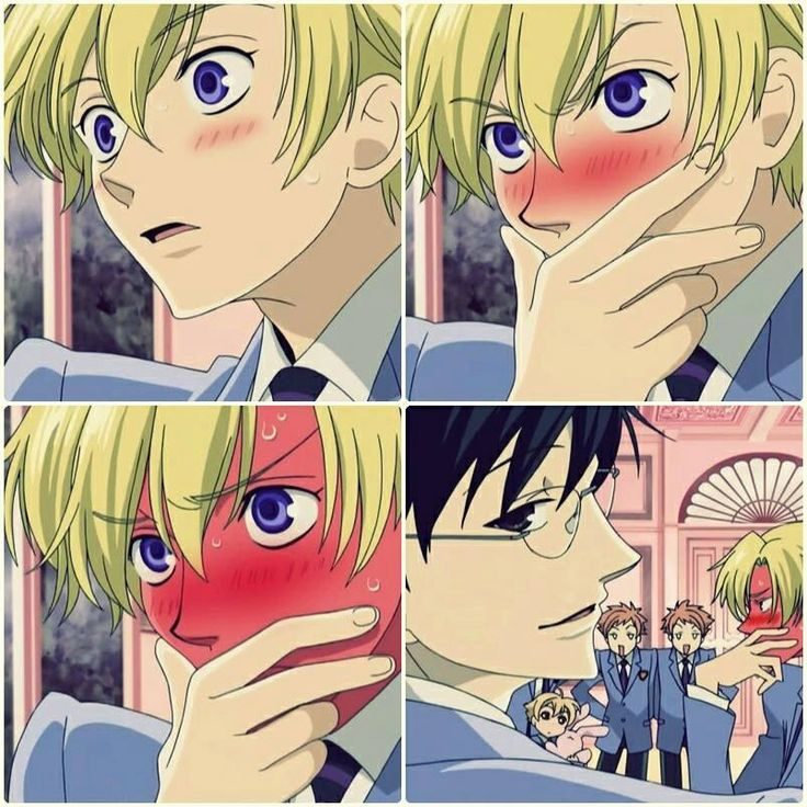 "Ouran High School Host Club. ""Now i could be wrong here, but i think we are witnessing the begging of love."