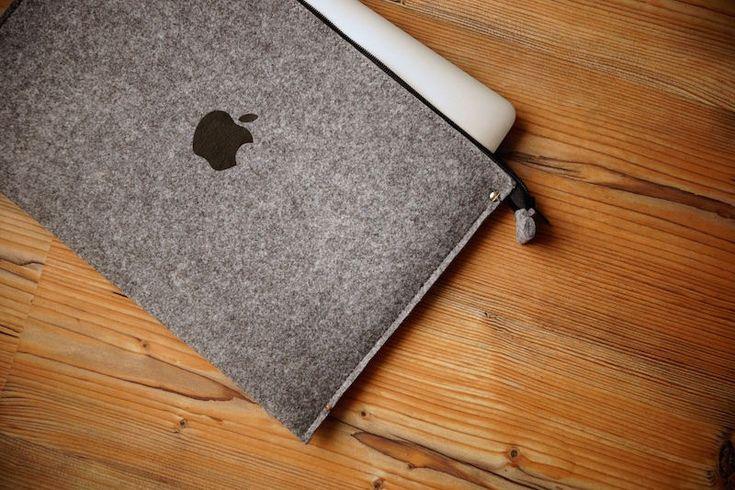 Smart laptop Felt Sleeve Case Cover Bag for Apple MacBook Pro, Retina & Air