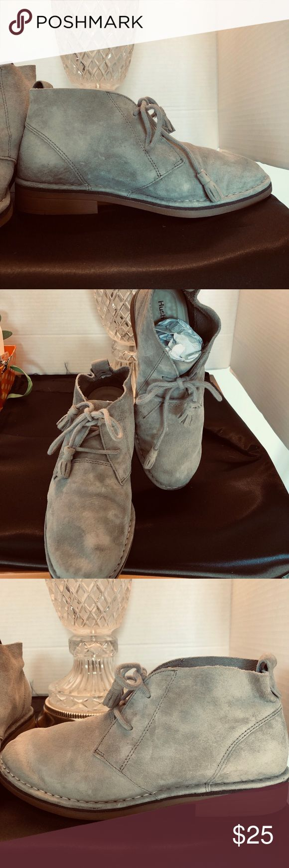 Hush puppies. These hush puppies are soft supple and easy to wear. In a grey sue… – My Posh Closet