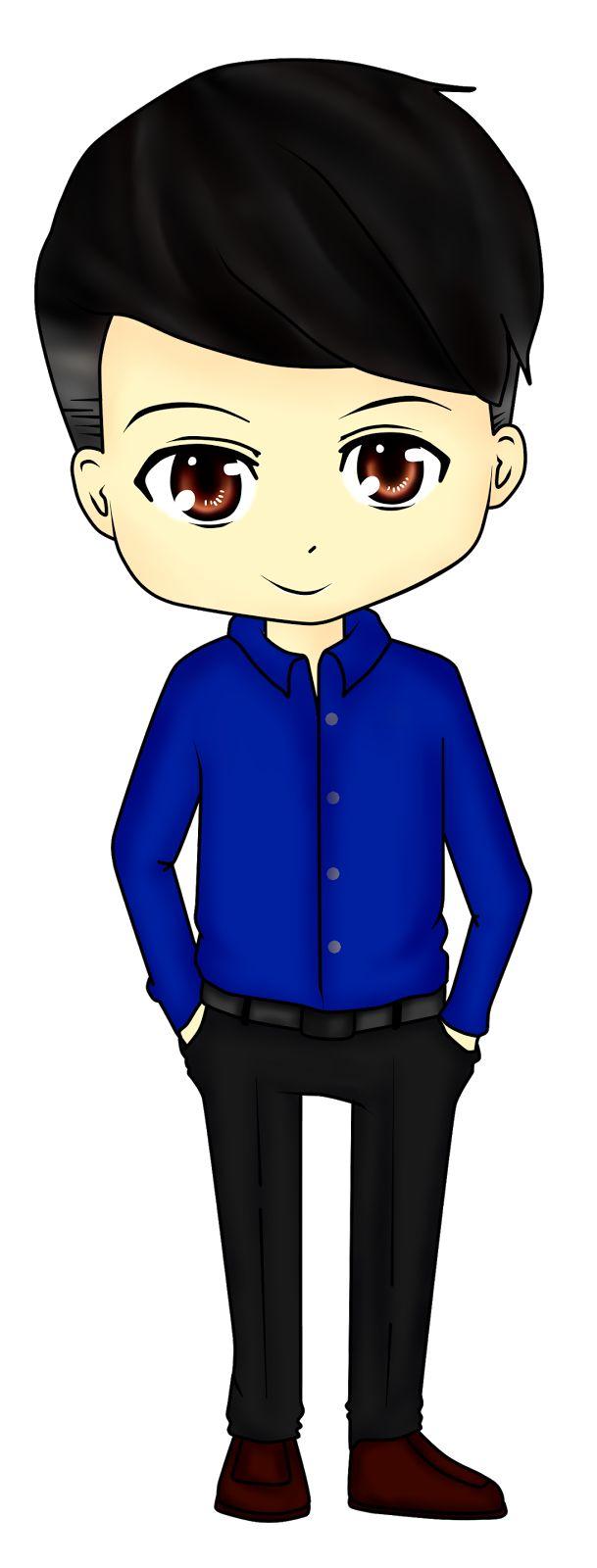 Diya Hanun: Chibi Doodle style model lelaki