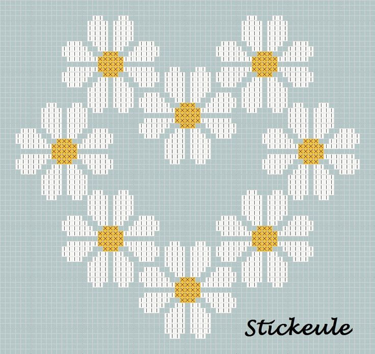 cross stitch pattern. for more go to http://stickeule.blogspot.co.uk/2012/04/nicht-ohne-grund.html