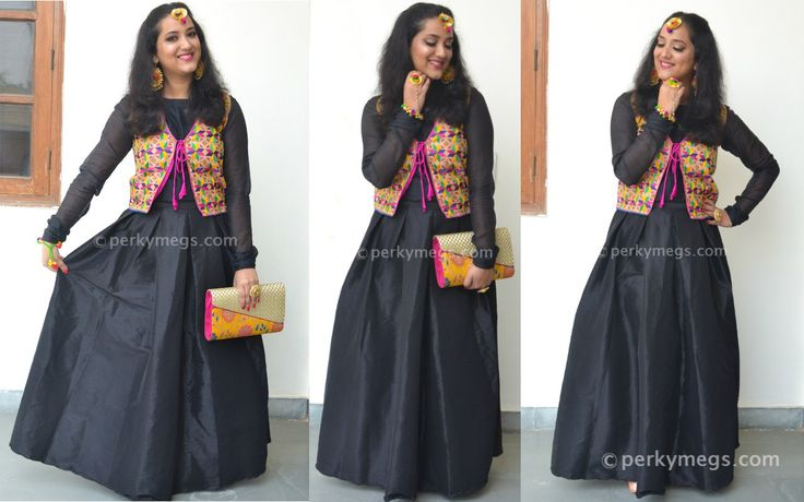 Indian wedding looks with a black skirt indian ethnic wear indian wedding