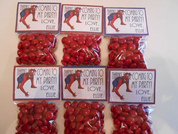 Hey, I found this really awesome Etsy listing at http://www.etsy.com/listing/157759812/spiderman-party-favors-spiderman