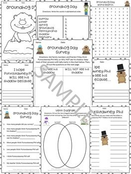 Groundhog day activities venn diagrams ccuart Images