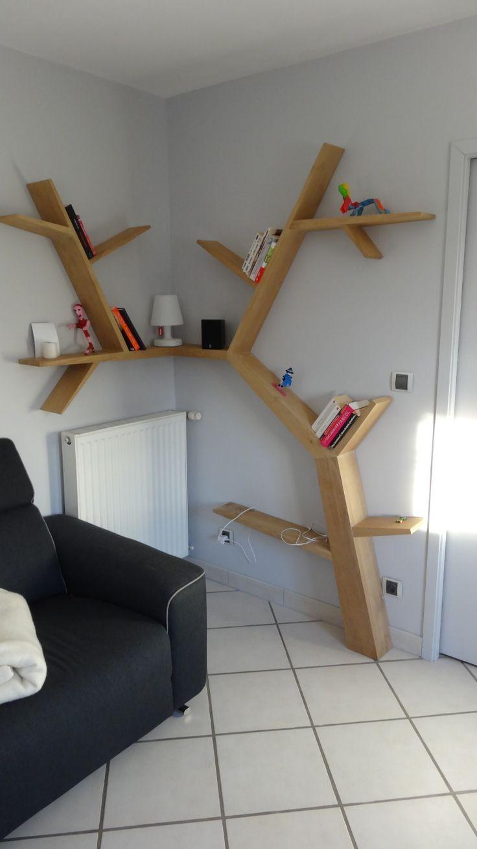 table salle a manger - [réalisation] table chêne brut / acier /valchromat