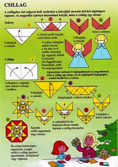Origami angel.
