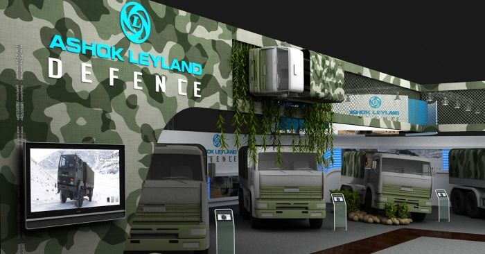 Ashok Leyland - Defence Expo by Arif Khan at Coroflot.com