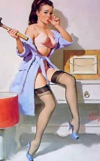 Gil Elvgren   Famous & glamour Pin-Up vintage artist