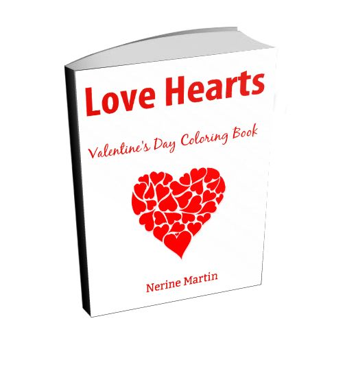 Color 25 Valentine's Day inspired designs featuring hearts. Grab your copy for only $5.00 for 1 week only and Happy Valentine's Day! www.coloryourwaytohappy.com/adult-coloring-books