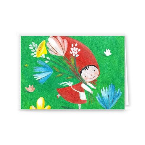 Little Red Riding Hood Greeting Card by luciasalemi at zippi.co.uk