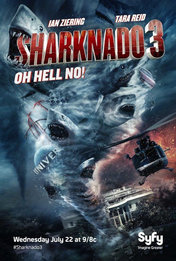 Télévision/ Critique de Sharknado 3 de Anthony C. Ferrante, diffusé sur SyFy et Canalsat 23 juillet 2015